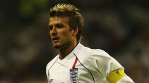 David Beckham England 2002