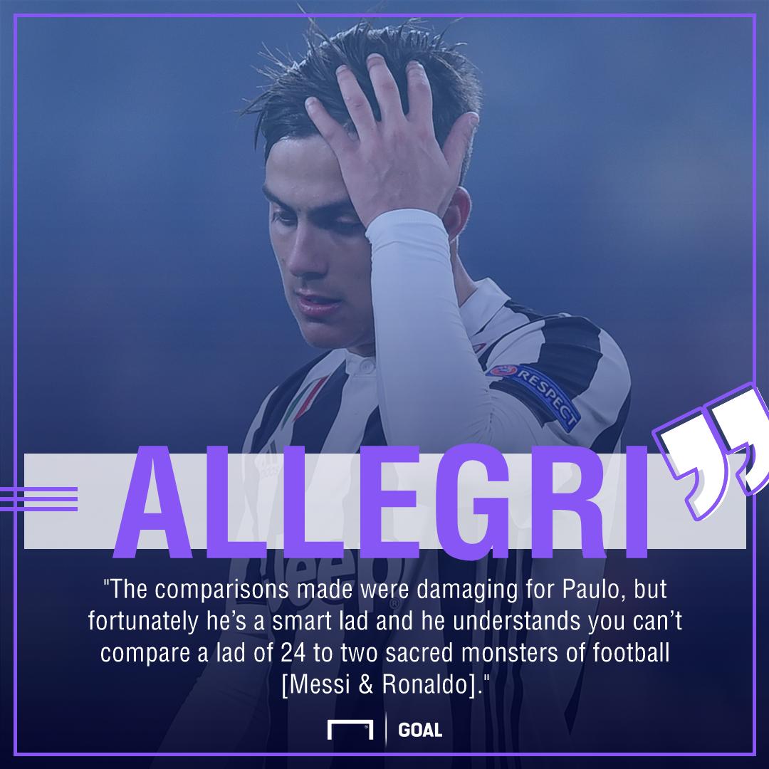Paulo Dybala damaged Messi Ronald comparisons