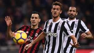 Daniele Rugani - Milan-Juventus