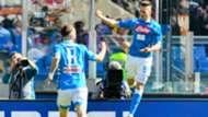 Roma Napoli Fabian Milik