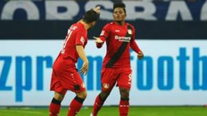 Leon Bailey Bayer Leverkusen 29092017