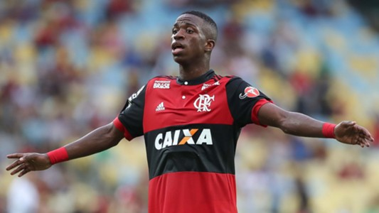 Vinicius Junior Flamengo Vasco 27012018