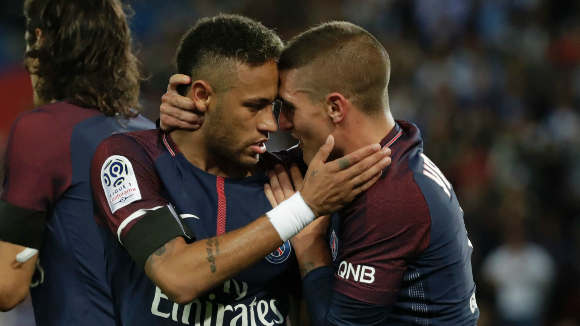 Neymar Marco Verratti Paris Saint Germain