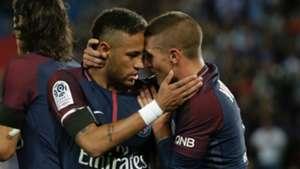 Neymar Marco Verratti Paris Saint Germain