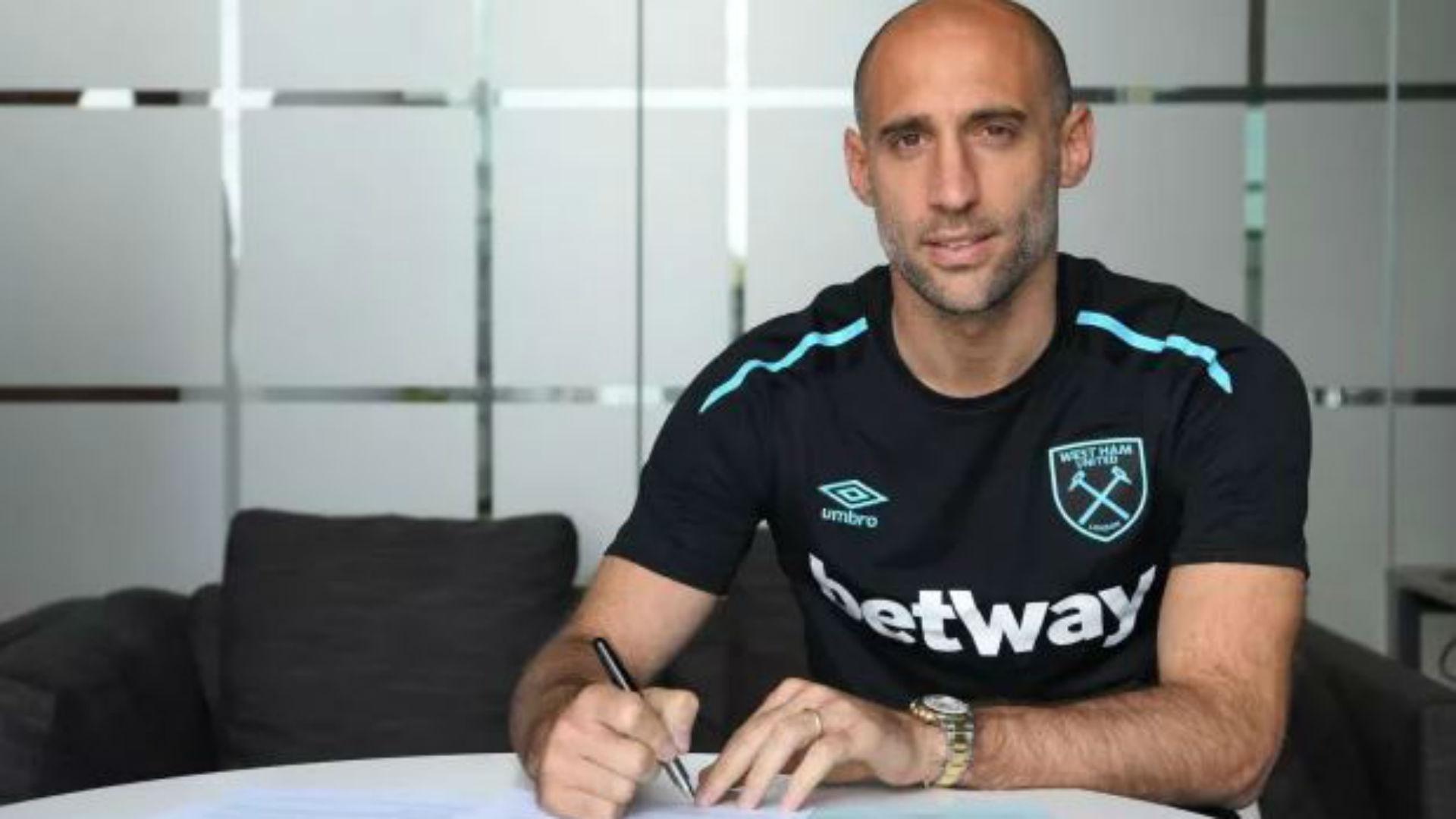 Pablo Zabaleta West Ham United