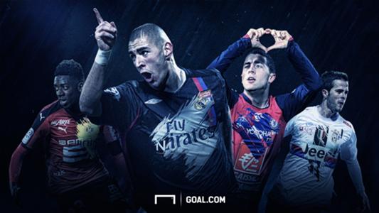 Ligue 1 Benzema hazard pjanic dembélé