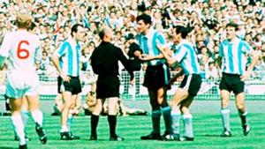 Antonio Rattín. Inglaterra Argentina Mundial 1966