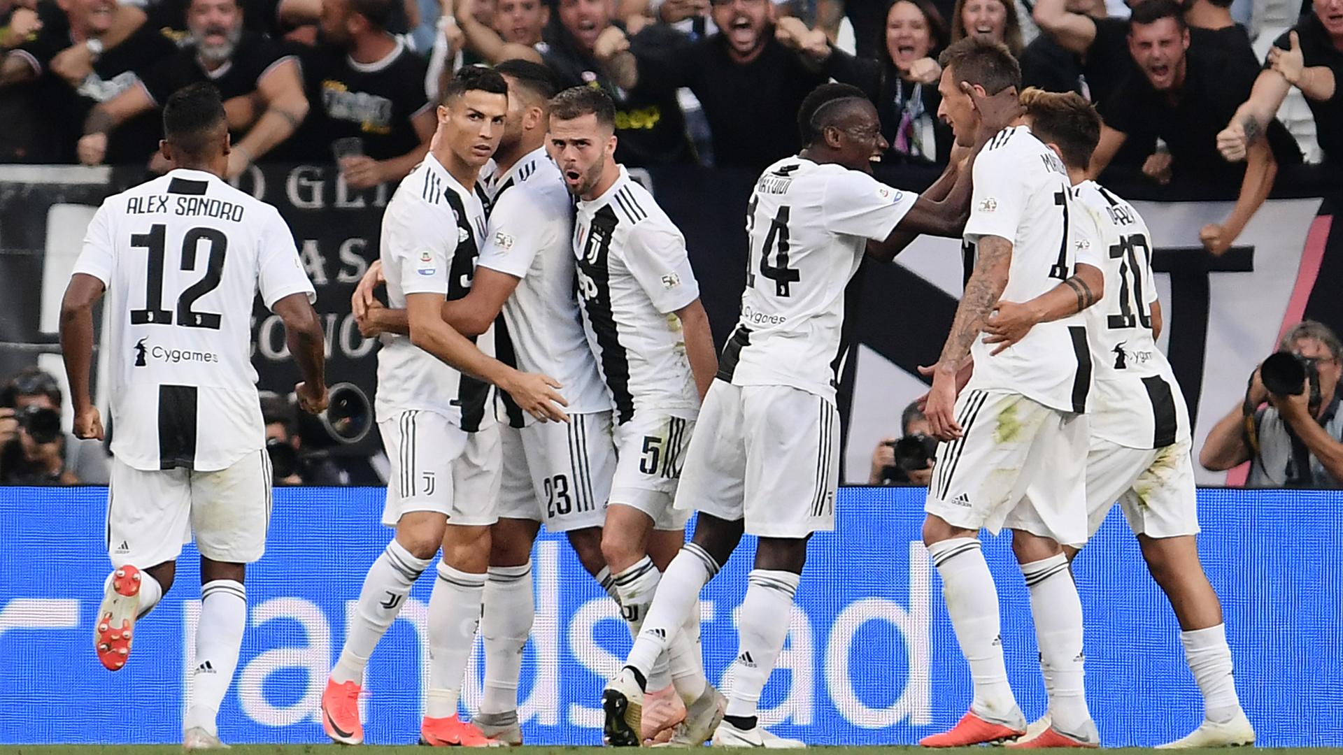 Juventus Turin Ronaldo Mandzukic 29092018