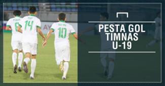Pesta Gol Timnas Indonesia U-19