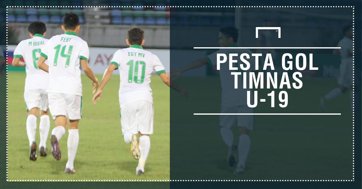 GALERI: Pesta Gol Timnas Indonesia U19  Goal.com