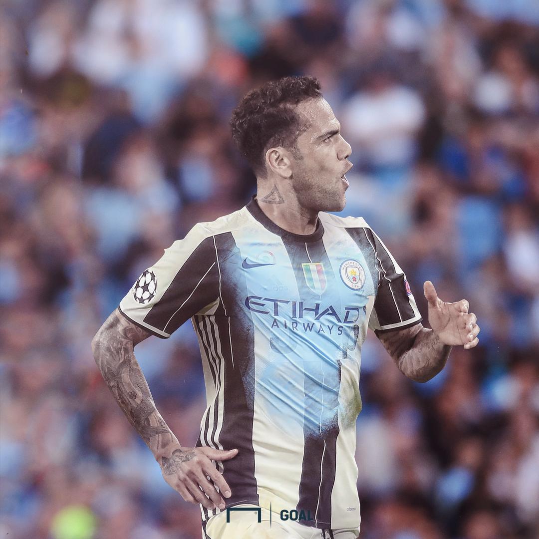 Dani Alves Manchester City GFX