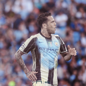 Dani Alves Manchester City GFX