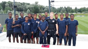 Young Bafana in Salzburg