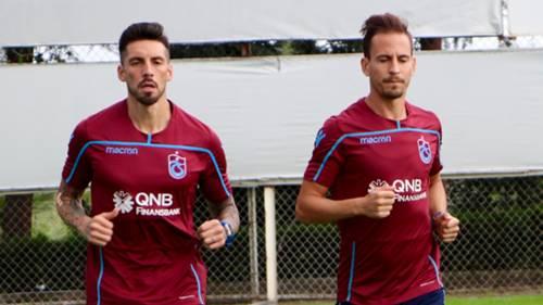 Jose Sosa Joao Pereira Trabzonspor