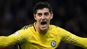 Thibaut Courtois Chelsea 2017