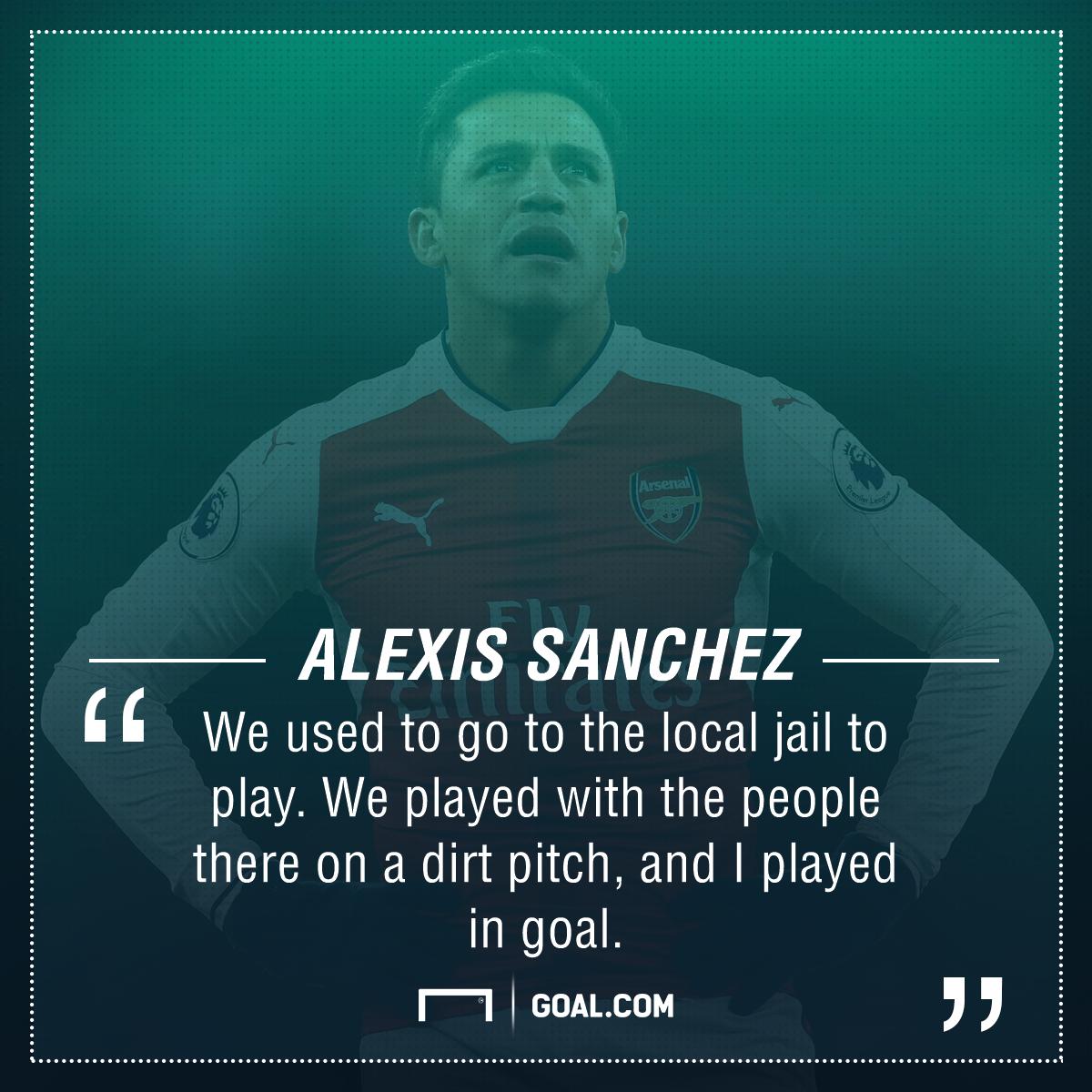 Alexis Sanchez jail