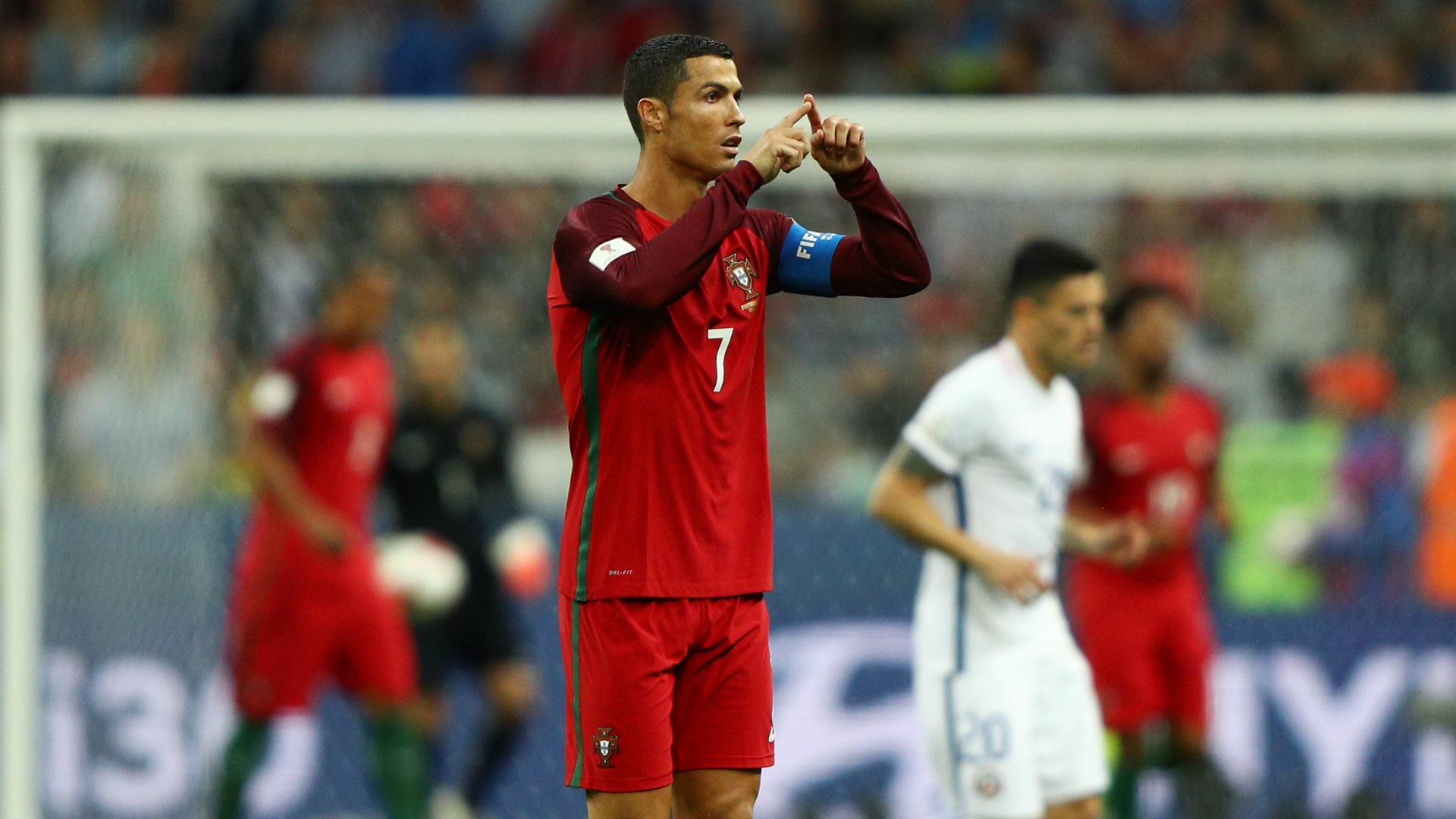 Cristiano Ronaldo Portugal Chile