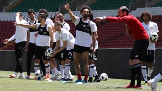 Salah Egito treino 13 06 18
