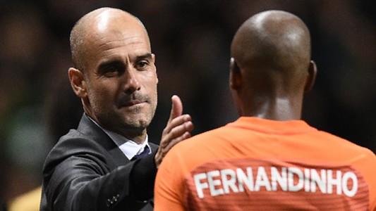Fernandinho Guardiola Manchester City