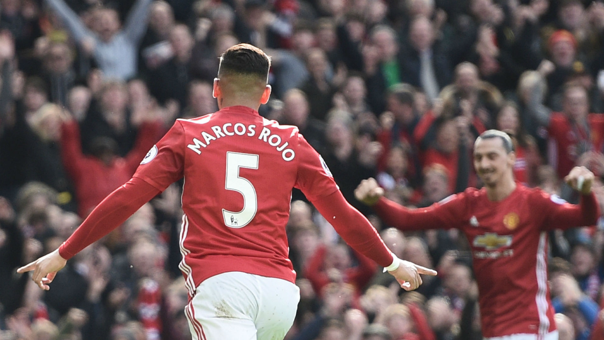 Marcos Rojo Premier League Manchester United v Bournemouth