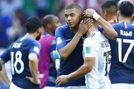 France Argentina Mbappe