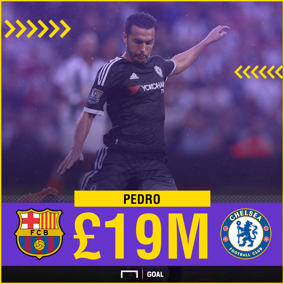 Pedro Barcelona to Chelsea fee