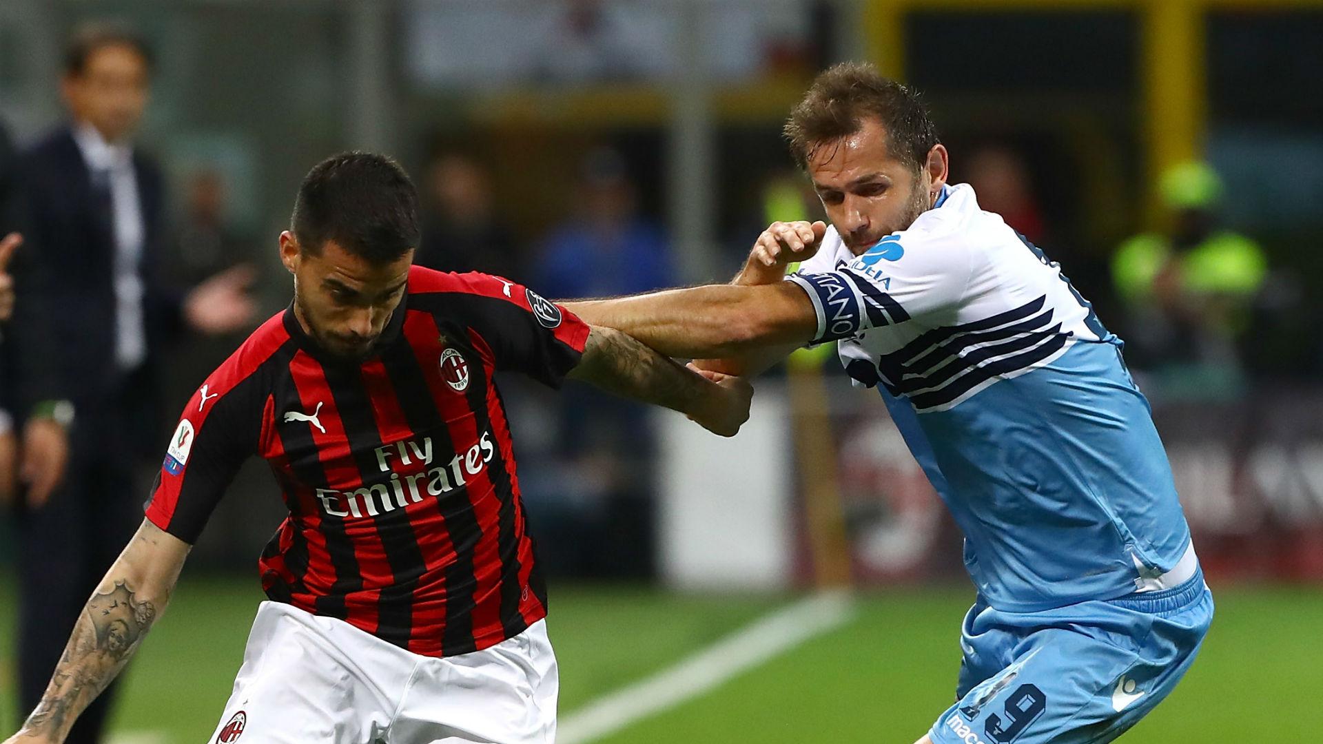 Suso Senad Lulic Milan Lazio Coppa Italia