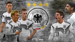 GFX Deutschland Nationalmannschaft 2018