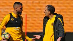 Giovanni Solinas and Daniel Cardoso Kaizer Chiefs