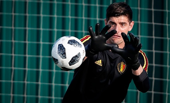Courtois getting ready