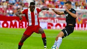Girona FC striker Michael Olunga