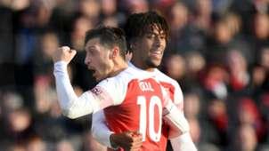 Ozil Iwobi - Arsenal