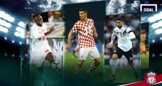 Sadio Mane Senegal Dejan Lovren Croatia Emre Can Germany