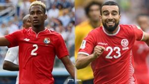 パナマ対チュニジア