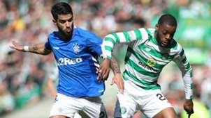 Daniel Candeias Rangers Oliver Ntcham Celtic 2018-19