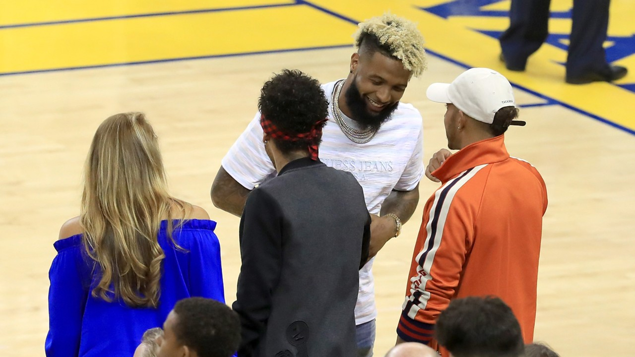 Barca-Star Neymar besucht Spiel zwei der NBA-Finals   Goal.com