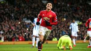 Alexis Sanchez Manchester United Premier League 03022018