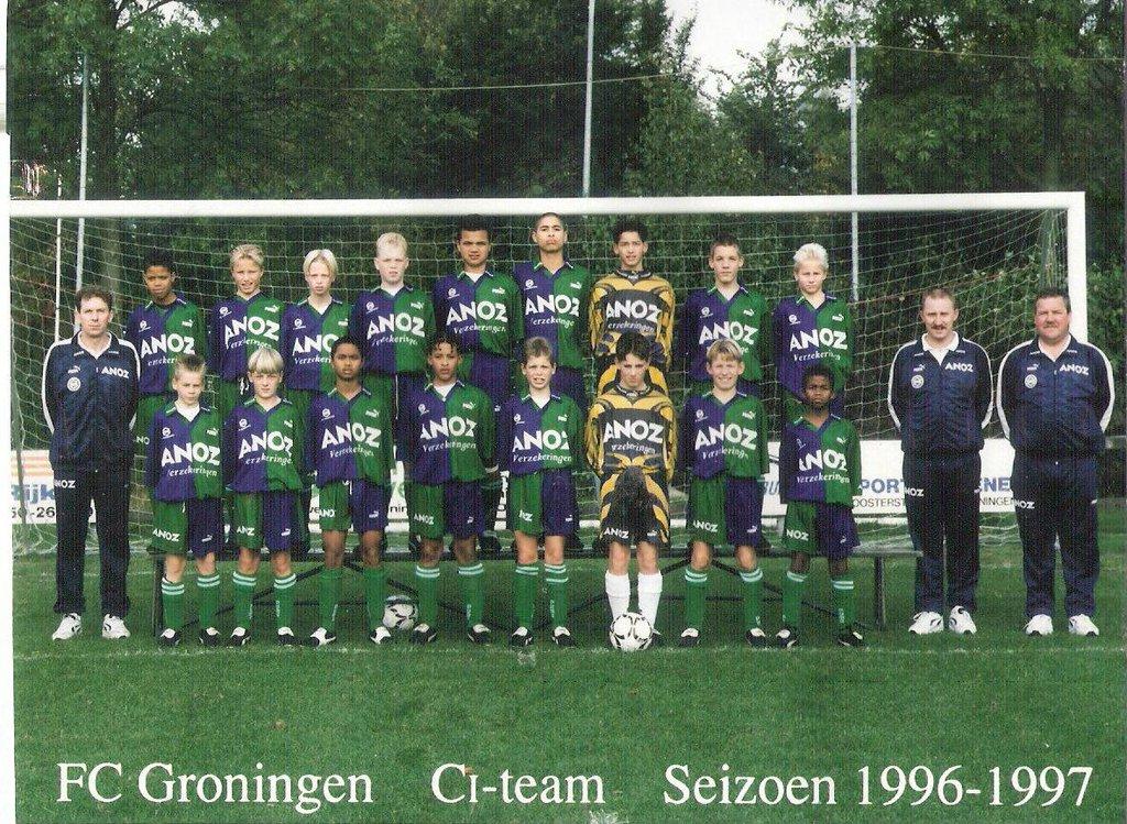 Arjen Robben, Stefan Coerts, Groningen (embed only)