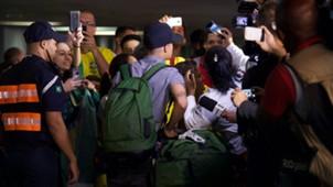 Coutinho Brasil desembarque Galeão Copa do Mundo 08 07 18