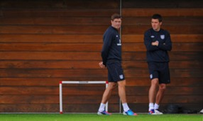 Steven Gerrard & Michael Carrick - England