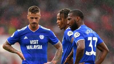 Joe Bennett Bobby Reid Junior Hoilett Cardiff City Premier League