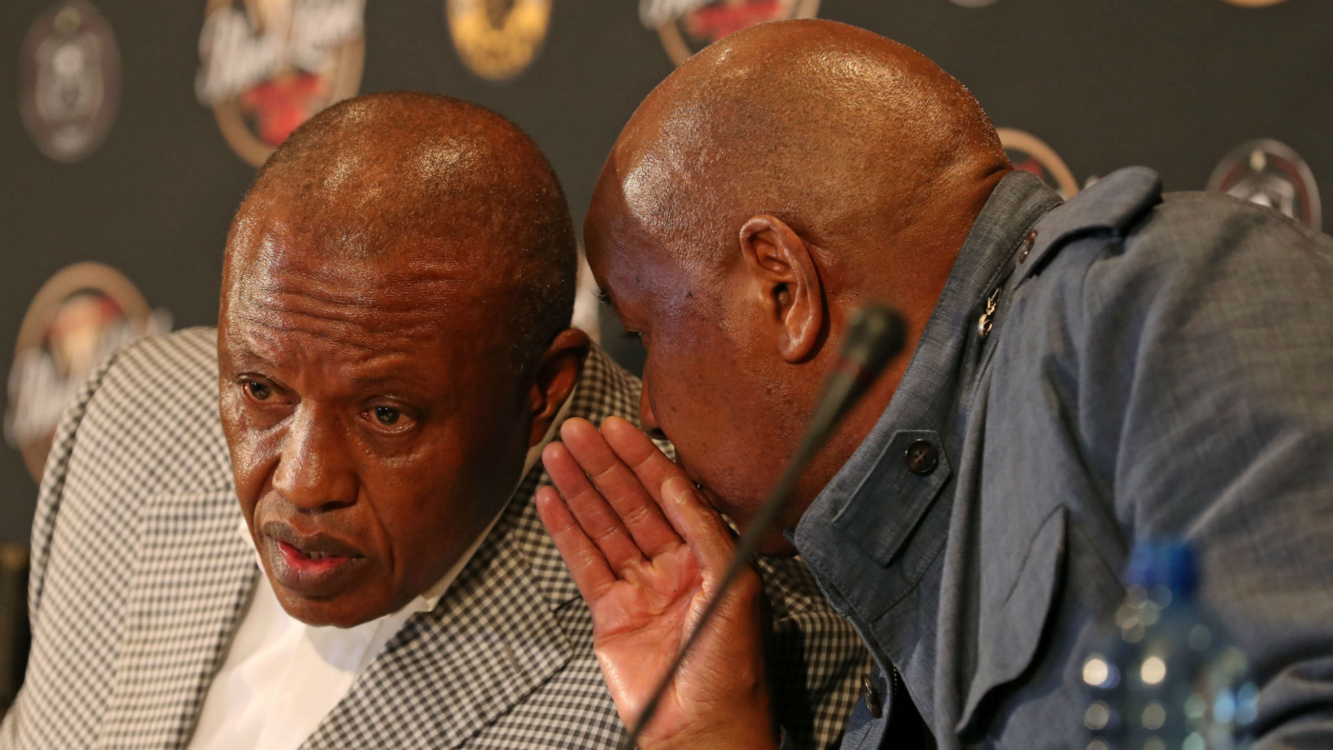 Irvin Khoza, Orlando Pirates & Kaizer Motaung, Kaizer Chiefs