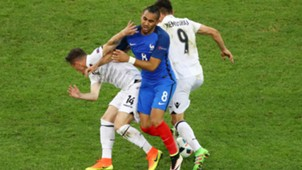 Payet and Memushaj battle it out
