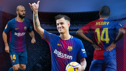 Definido  Coutinho  herda  a numeração de Mascherano no Barcelona ... 5dd79ba74a9e5