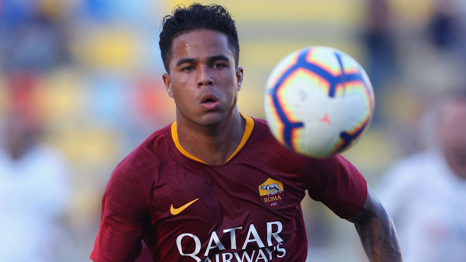 Kluivert Roma Serie A