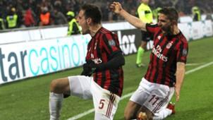 Giacomo Bonaventura Fabio Borini Milan Bologna Serie A