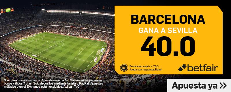 Barcelona Sevilla Betfair