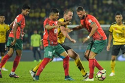 Sandro Da Silva, Liridon Krasinqi, Kedah, Faton Toski, Perak, FA Cup, 11032017