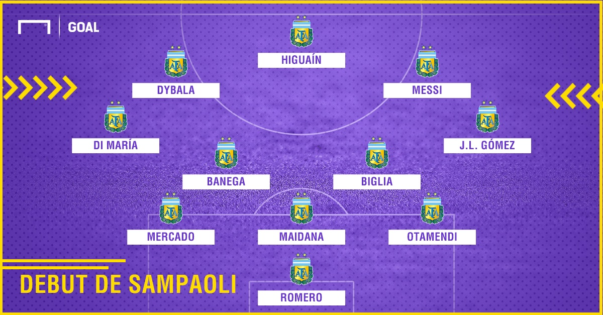 GFX Argentina XI Debut Sampaoli