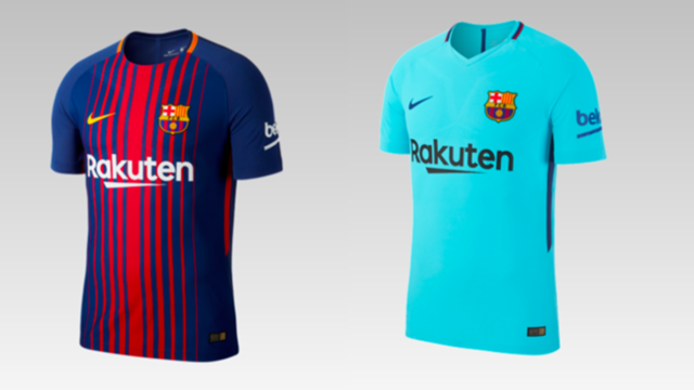 Así son las nuevas camisetas del Barcelona para la temporada 2017-2018  bad8d4d1a9c4e